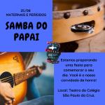 dia dos pais - samba 2018